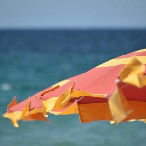 アルゲーロのビーチ