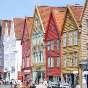 ベルゲンの町歩き
