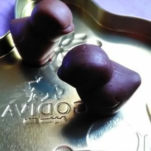 GODIVAのバニーちゃんとひよこチョコに魅せられて…♡♡♡