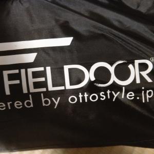 新しいテントが来ました!! FIELDOOR フィールドキャンプドーム300