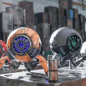 【Gravastar レビュー】見た目よし・音質よしのロボット型スピーカー!