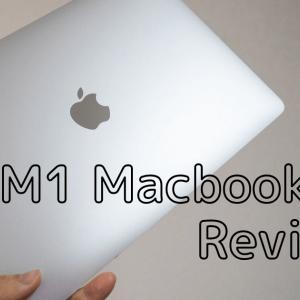 【レビュー】M1 Macbook Airを購入!~圧倒的な高性能・省電力性を誇る〜Windowsユーザーが買ってみた!