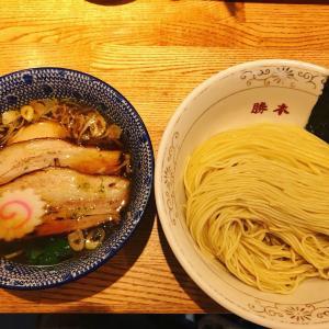 つけそば神田勝本@神保町 〜極上鶏の清湯つけそば
