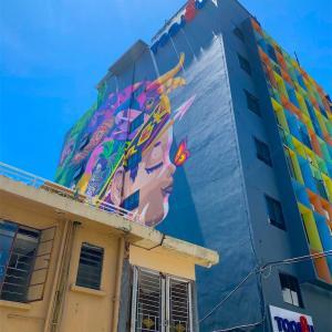 コタキナバルのアートなホステル@Toojou