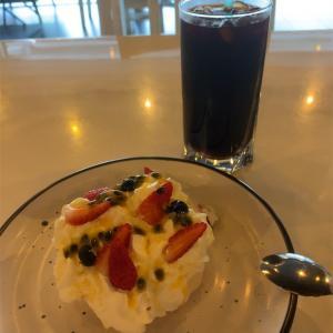 パブロバとテノムコーヒーの美味しいカフェ@Pies and Jars☕︎