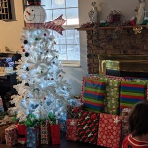 アメリカでの初クリスマス。