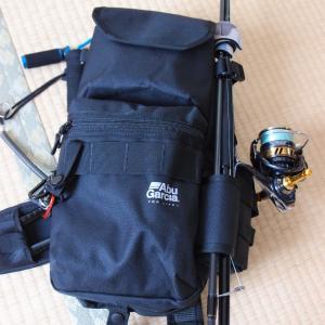 アブガルシアのスリングボディバッグで自転車釣行に行ってみた感想