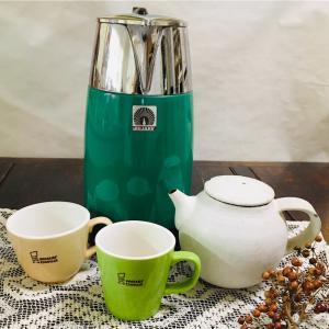 温かいお茶の季節到来 茶器をキレイにしました。