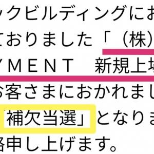 RBOT PAYMENTのIPO抽選結果