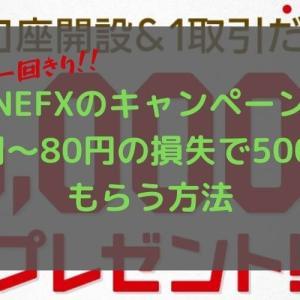 【一回きり詐欺ナシ!】LINE FXから10円~80円の損失で5000円もらう方法!
