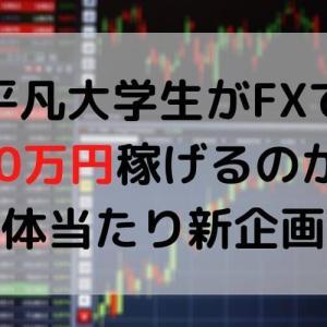 平凡大学生がFXで100万円稼げるのか?【体当たり新企画】