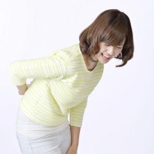 腰痛の原因は、尻餅です