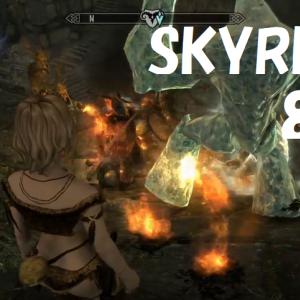 "[Xbox] SKYRIM + mod 81 Jill Valentine's ""A Quest That Can't Escape Anymore"""
