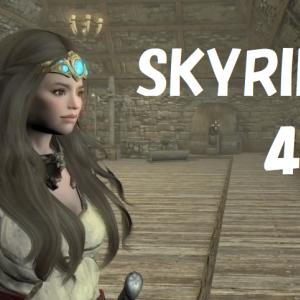 [Xbox] SKYRIM + mod 043 Corbyon Cemetery. Character making. Take a walk through the cheat room.