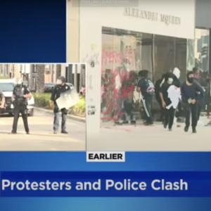 ロサンゼルスが、サンタモニカが、、白人警官による黒人殺害でロスはトンデモ無い事になってます、、、
