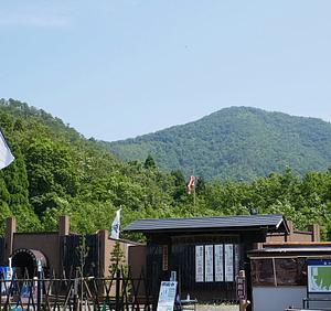 暑い暑い小谷山