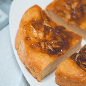オートミール×豆腐【低糖質ヨーグルトレモンケーキ】レシピ・作り方