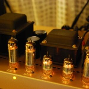 6BQ5ppパワーアンプ