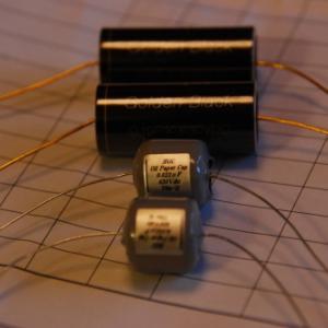 EQアンプ オイルコンデンサー交換