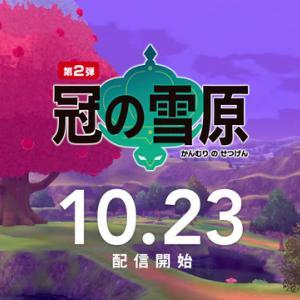 【ポケモン剣・盾】『EXPANSION PASS』第2弾『冠の雪原』本日配信開始!!