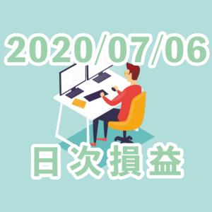 【2020/07/06】+2.10pips