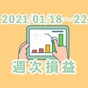 【2021/01/18~22】+74.70pips