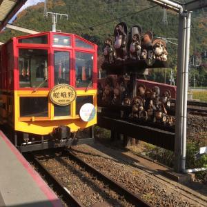 嵯峨野トロッコ列車《2020.11》