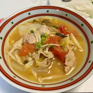 鍋料理の翌日のミソスープ