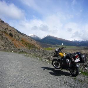 ニュージーランド縦断オートバイツーリング1700km