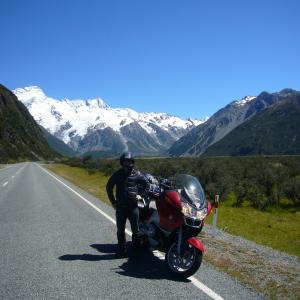 ニュージーランド南島オートバイツーリング1800km