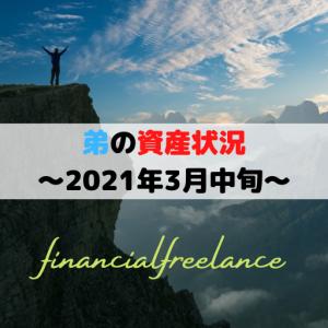 資産額(弟)を公開!~2021年3月中旬~