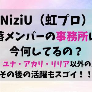 NiziUの脱落メンバーの現在は?事務所やその後の活動を調査!
