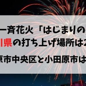 全国一斉花火【神奈川県】の打ち上げ場所はどこ?7月24日はじまりの花火