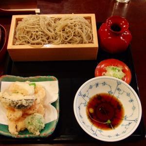 天せいろ一枚「蕎麦 春風荘」愛知県名古屋市