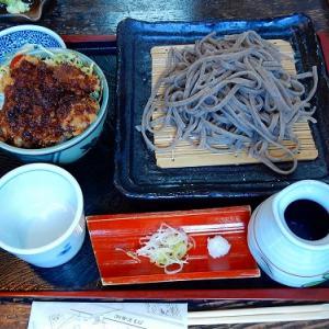 ミニ丼と玄粒「例幣使そば荒川屋」栃木県足利市