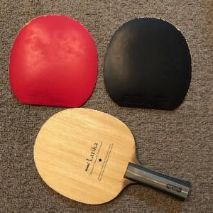 卓球ラバーの初めての交換体験(張替え)について・・−難しかった(T_T)−