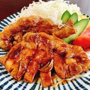 『豚ロース肉のトンテキ』レシピ付き