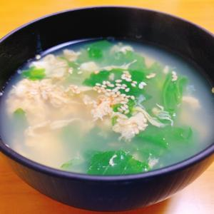 『レタスのかきたまスープ』レシピ付き