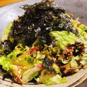 『海苔フレークのチョレギサラダ』レシピ付き