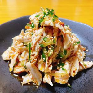 『鶏ささみときゅうりの食べラー和え』レシピ付き