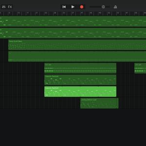 GarageBandで作る電子音楽②『月世界旅行』