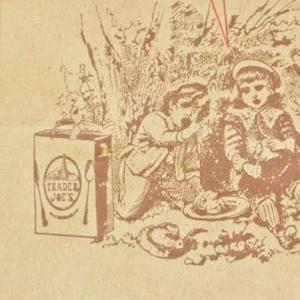 ショップ紙袋を使ったハンドメイド封筒&ポストカードデコ