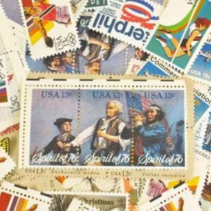 初見大量!のアメリカビンテージ切手 13セント編と、新発売フォーエバースタンプ