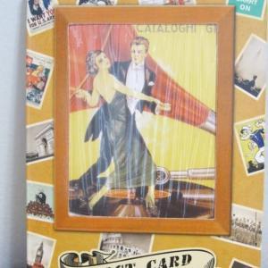 ヴィンテージ風 レトロポスター柄 ポストカード 32枚セット