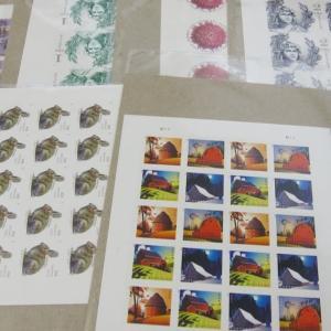 新発売切手の到着とポストカードデコ