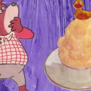 クマたんは見た!&日本の鐘 ハンドメイドポストカード#31-32