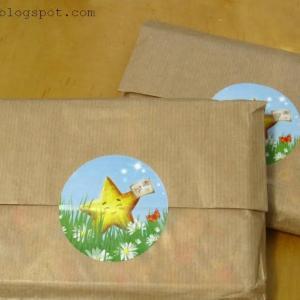 Twinkle Card のポストカードとシール