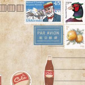 切手の組み合わせ独り会議