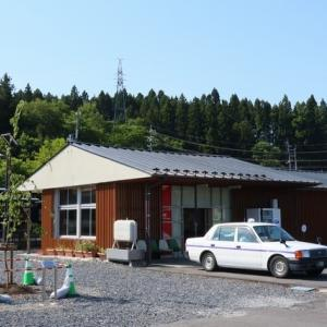 本吉駅(2020年6月)、気仙沼市