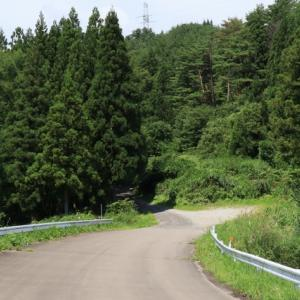 宮城県の県道262号、切込からの舗装の終わり [加美町探検 #07]
